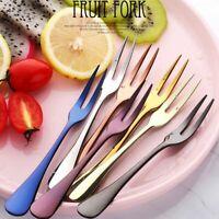 Fruit Fork Luxury Steel Stainless Cake Dessert Fork For Party Snail Restaurant T