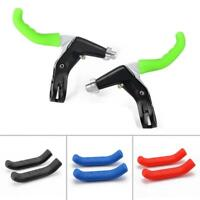 New 1 Pair Silicone Bike Bicycle Brake Lever Grips Handle Protector Sleeve Cover
