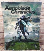 Official Xenoblade Chronicles / Starfox Zero Nintendo Wii U Poster Authentic