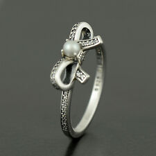 Authentic Pandora Sterling Silver Delicate Sentiments Ring - Size 56 - 190971P
