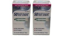TRUE track Diabetic Blood Glucose Test Strips 100CT. &Free Shipping EXP 2020+