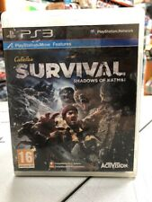 Cabela's Survival Shadows of Katmai Ita PS3 USATO GARANTITO