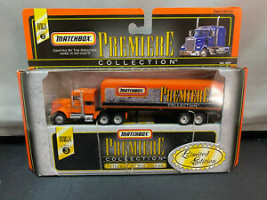 Matchbox Premiere Rigs Tractor Truck With Trailer HO Scale Diecast Lot New