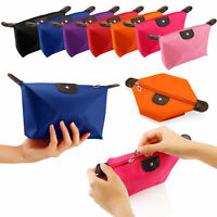 Ladies Cosmetic Make Up Bag Travel Toiletry Organizer Storage Holder Zip Pouch