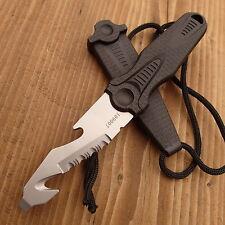 HERBERTZ - Messer - NECK KNIFE - Sägezahnung  - HALSMESSER + Scheide - 109007