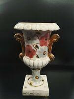 "Beautiful 19th Century Export Porcelain Vase Italian Style 12"""