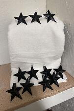 New listing Set Of 11 Star Shower Hooks Metal Bath Hooks Hooks Country Primitive