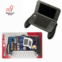 "New"" Cyber Gadget Rubber Coating Grip 2 Black color for Nintendo New 3DS LL XL"
