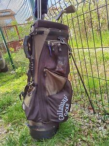 Callaway Halk Eye Big Bag Golf Club Stand Carry Strap Very Good Condition