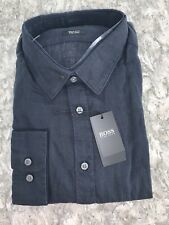 MENS HUGO BOSS LINEN SHIRT - XL - REGULAR FIT