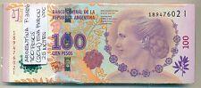 ARGENTINA BUNDLE 25 NOTES 100 PESOS (2014) EVA PERON P 358b UNC