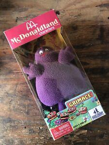 MCDONALD'S Mcdonaldland Purple GRIMACE Huckleberry Characters NIB Boxed M217