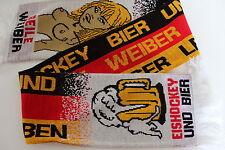 Schal Eishockey Bier Geile Weiber 15  x 150 cm  Eishockey WM Köln / Paris Schal
