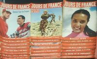 23 Vintage French Jours de France Magazine Lovely Adverts & Pictures etc #2 1956