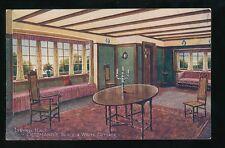 Exhibition Japan-British 1910 Living Hall Oetzmann's Cottage Souvenir PPC