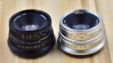 Hengyijia 25mm F/1.8 HD MC Manual Focus Lens f/ Fujifilm XF Mount Camera w/ Hood