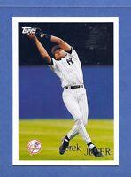 1996 Topps Derek Jeter Future Star N.Y. Yankees GEM MINT QUALITY & WELL CENTERED