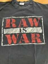 Vintage Raw Is War T-Shirt L