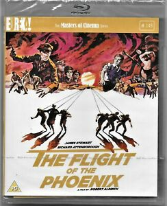 The Flight of the Phoenix Blu Ray(James Stewart) Reg/B Includes Registered Post
