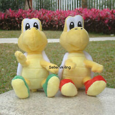 2X Nintendo Super Mario Plush Toy Red Green Koopa Troopa Stuffed Animal Doll 6""