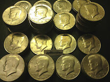 2x 1971-1979 P D Kennedy Half Dollar From 70's Old 1972 1973 1976 1978 50¢ Lot