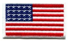 American flag old glory stars and stripes applique iron-on patch new Small