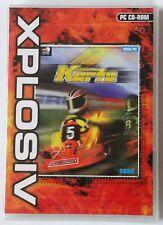 FORMULA KARTS PC CD-ROM KARTING RACING GAME brand new !