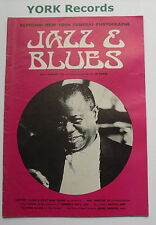 JAZZ & BLUES MAGAZINE - Vol 1 No 4 July / August 1971 - Lester Young /Roy Porter