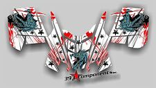 2010 - 2014 POLARIS PRO RMK - RUSH Decal Sticker Graphics Kit Dragon Fire