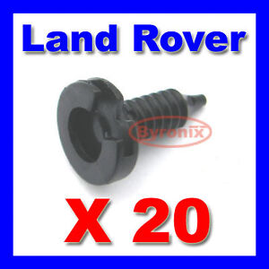 LAND ROVER DISCOVERY FREELANDER RANGE P38 DOOR PANEL TRIM CLIPS MWC9134