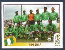 PANINI KOREA/JAPAN WORLD CUP 2002- #403-NIGERIA TEAM PHOTO
