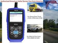 NEXAS Heavy Duty Truck/Car Scanner NL102 OBD/EOBD+HDOBD Engine ABS Transmission