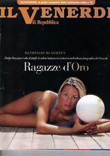 2000 07 21 - IL VENERDI DI REPUBBLICA - 21-07-2000 - N.644 - RAGAZZE D'ORO