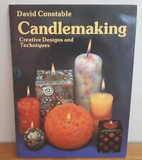 Hobbies-David Constable CANDLE MAKING + Candle makers news + supplier's details