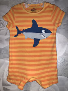 Boys 0-3 Months - Next Romper Suit / All In One