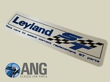 "MORRIS MARINA ENGINE ROCKER COVER ''LEYLAND ST"" DECAL"