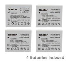 NB-4L Battery forCanon PowerShot ELPH 100 HS, 300 HS, 310 HS, 330 HS, VIXIA mini