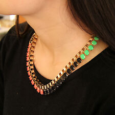 Necklace Woman Chain Coral Green Black Multicolored Original Marriage Gift JCR