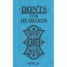 DON'TS FOR HUSBANDS MINIATURE BOOK - HUMOUR FROM 1913!