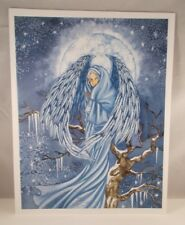 """Amy Brown """"Snow Queen II""""  8 1/2"""" X 11"""" Limited Edition Print # 43 Out Of 200"""