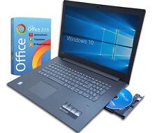 Lenovo Notebook 17 Zoll Intel i5 - 3,1Ghz / 8GB RAM / 1TB / Win10  / Office 2018
