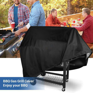 145 cm Heavy Duty BBQ Cover Garden Patio 2 4 Burner Barbecue Grill Storage