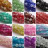 Wholesale Crystal Glass Crackle Round Loose Spacer Beads DIY 6mm 8mm 10mm