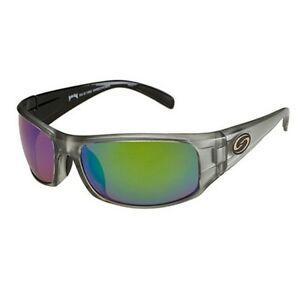 Strike King SG-S11582 Green Mirror Lens Polarized Sunglasses Gray/Black