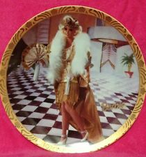 Enesco Barbie Collectors Plate 1920's Flapper The Great Eras Collection #676