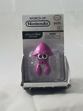 "Jakks Pacific World of Nintendo 2.5 "" Figure Purple Squid Splatoon New"