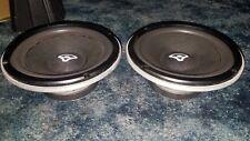 "Vintage Cast Aluminum Cerwin Vega 8"" Woofers Brand New Foam Surrounds"