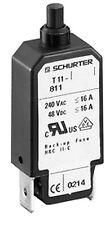 1 pc. Schurter Geräteschutzschalter Circuit Breaker  T11-811 8A  4400.0211 NEU
