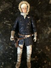 """Star Wars Black Series 6"""" Hoth Han Solo Figure - Loose With No Accessories 2015"""