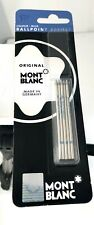 Mont Blanc - Colour Blue Ballpoint Refills